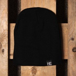 "STRAIGHT ""HC"" BEANIE- black"