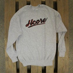 HCORE SIMPLE HOODIE- grey